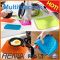 RENJIA extra large kitchen sink mat silicone dish drainer silicone dish drying mat