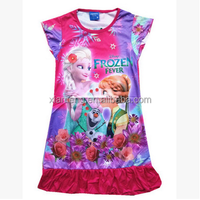 2016 New arrival sleep wear for baby girls wholesale cheap cotton kids pajamas