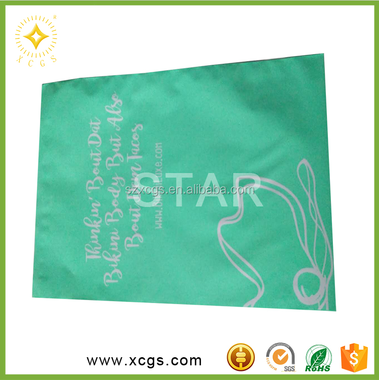 Self adhesive plastic pouch for waterproof document enclosed