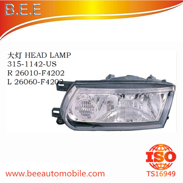 FOR NISSAN SUNNY SENTRA B13 MEXICO TYPE HEAD LAMP R 26010-F4202 L 26060-F4202