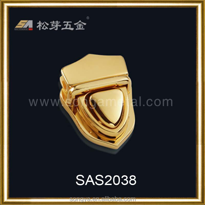 China Song A Metal Accessory Handbag Lock Hardware Supplier, Fashionable Handbag With Fancy Design