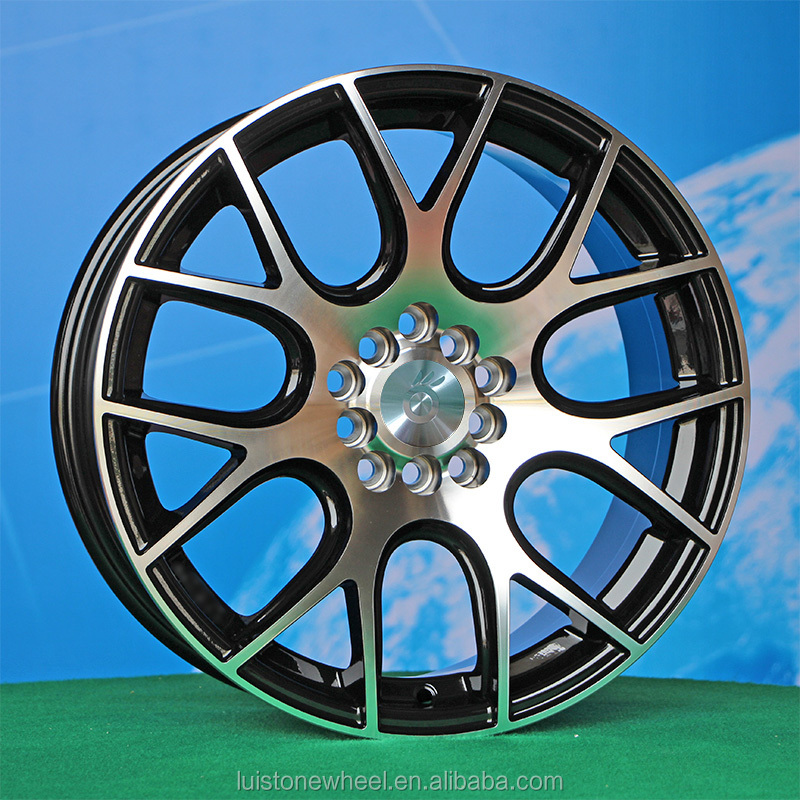 Luistone popular full painting machined face replica wheels rims for car L046