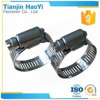 American Type Stainless Steel Heavy Duty Swivel Worm Gear Hose Clamp