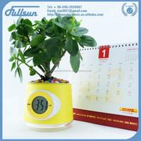 Multicolor plastic flower plant pot wholesale FS-2612