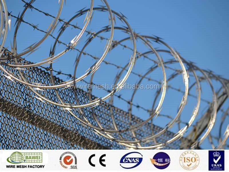 Stainless steel razor barbed wire from China manufacturer