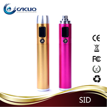 2014 Stainless Steel new ego tech e cigarette smok sid e-cig