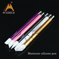 Professional gift nail special metal engraving shape pen,several kinds of manicure beauty pen set