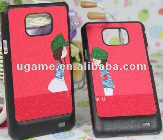 Lovers couple case for samsung galaxy s1 i9100