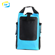 Durable 500d Outdoor Camping Custom Logo Pvc Waterproof Dry Bag With Shoulder Strap