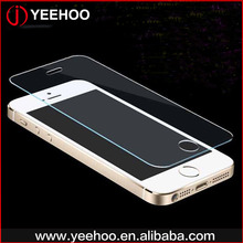 Mobile phone accessories 0.33mm new premium clear tempered glass for Iphone 5 se