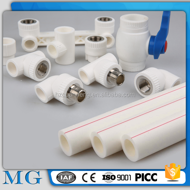 wholesale lowes pvc pipe fittings german ppr pipes 20mm-160mm ppr pipe