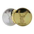 3 Sided Polishing Custom Brass Mirror-like Coins