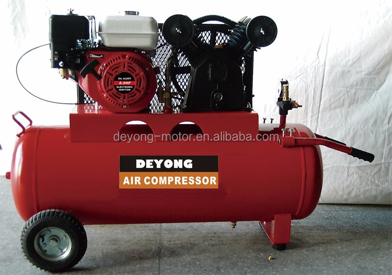 Portable piston air compressor (FUSHENG type)