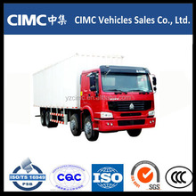 refrigerated cargo box freezer van 2 to 5 ton cooler truck, 6*4 refrigerated truck/cooling box truck/Cooling truck