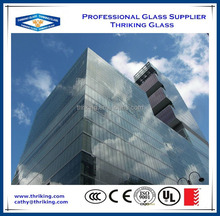 Thriking 4mm-19mm Tempered Glass for building,window,glass door,fence
