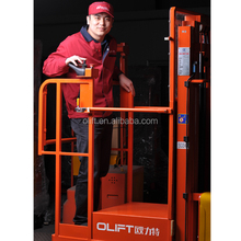 Hot Selling Olift order picker and packer job description with electric lifting with certificate CE