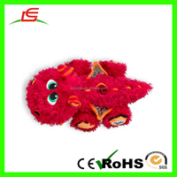 plush red Dragon baby toy How to Train Your Dragon for EN71 TOYS