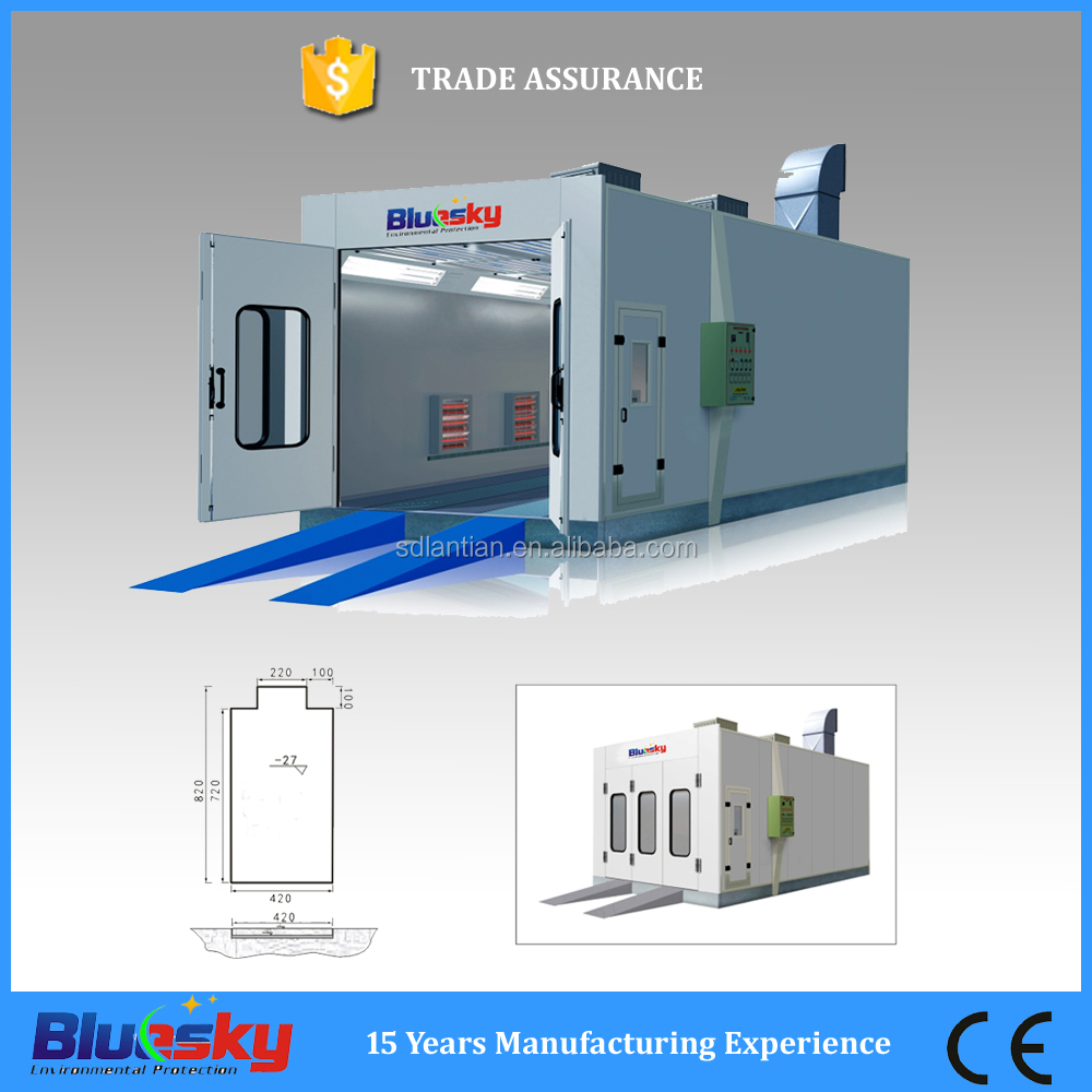 CE apporved ISO approval car paint/ auto paint booth/car paint mixing machine
