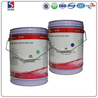 Chinese polyurethane waterproof coating with high solid could be used in building roof, kitchen,toilet and underground structure