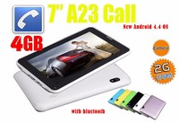 alibaba express tablet 7 inch Alwinner A23 with 2G GSM phone calling low price android tablet phone