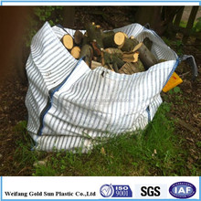 Ventilated white color jumbo big bag for fire wood
