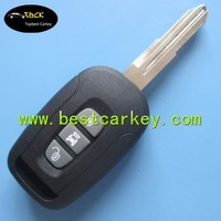 New Style 3 button smart car key 433Mhz with ID46 chip for chevrolet Captiva remote key