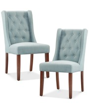 711 Traditionally Decor Style Stunning Button Tufted Chair Dining Set Home <strong>Furniture</strong>