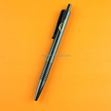 All black promotional plastic ball pens with cheap price