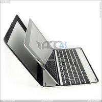 Aluminum bluetooth keyboard With back cover for ipad 2/3 P-iPAD3HCKBSO006