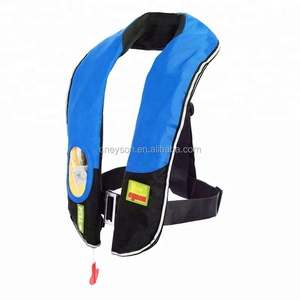 OEM automatic inflation child inflatable water swim vest life jacket