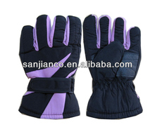 New design Breathable and waterproof reinforced ski gloves snow