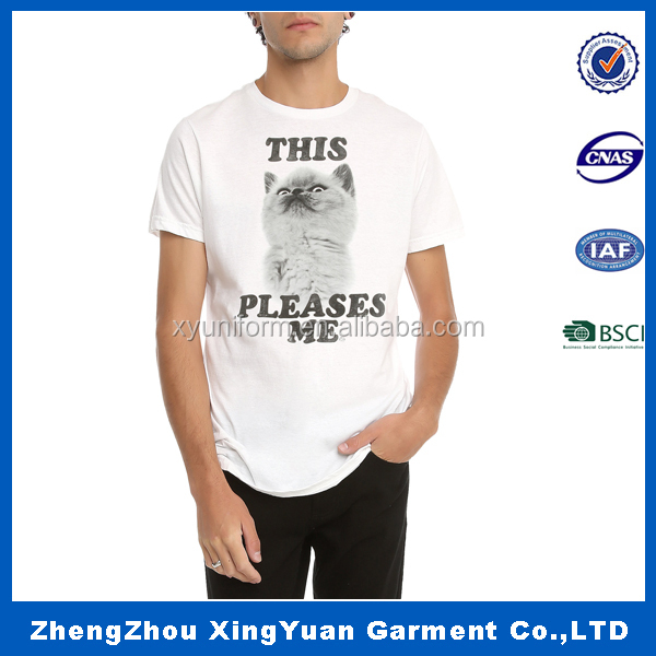Fashion cheap custom rock no label with wholesale price t shirt