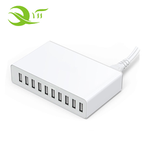 2017 wholesale 10a 10 port usb charger charging station fast tablet power charger