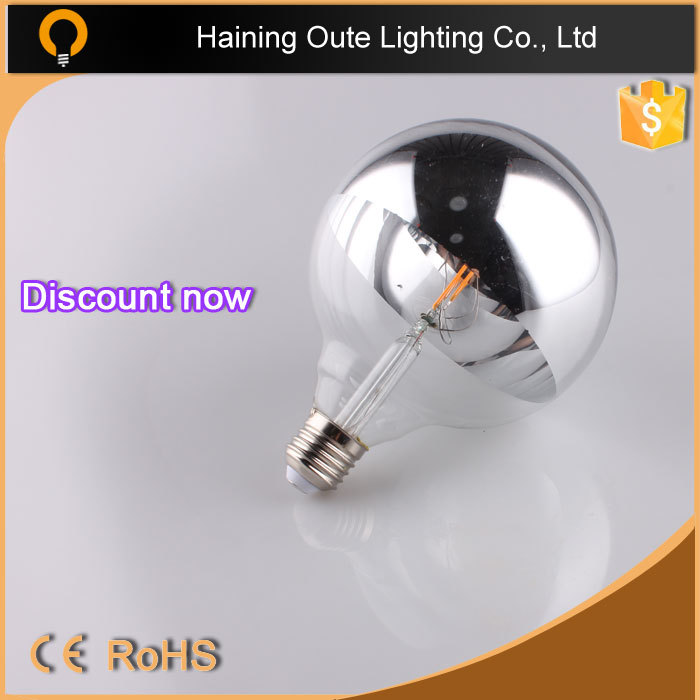 led filament bulb 6W G80,G95,G125 R60,ST64,candle led bulb