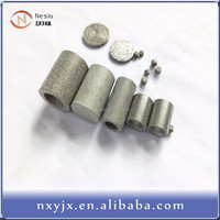 1micron sintered stainless steel porous metal cylinder filter