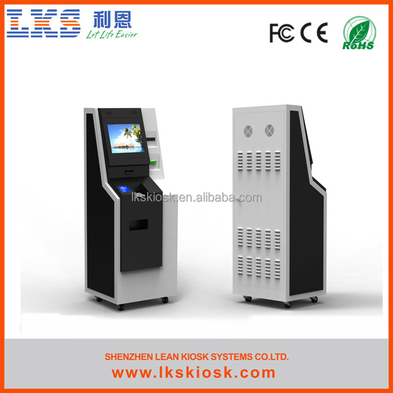 LKS multi functional currency exchange machine