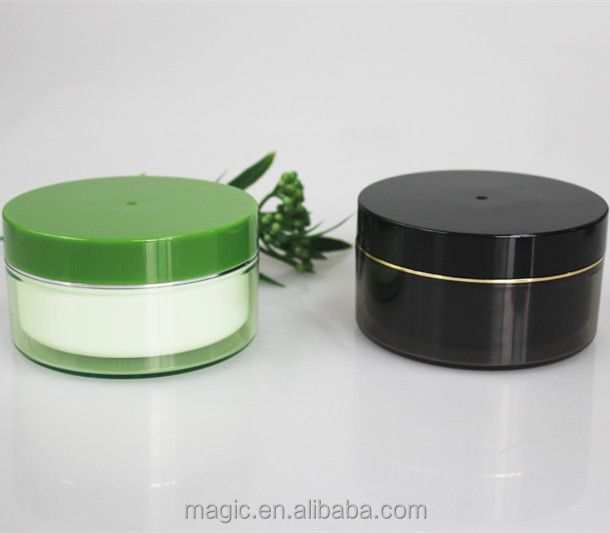 body scrub containers,cosmetic empty packaging