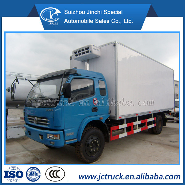 Economic Product 4x2 top shell meat refrigerated truck distribution