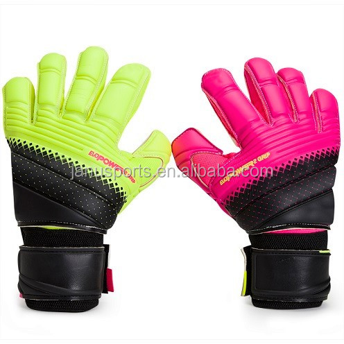 WoWEN-5082B# Comfort soccer Latex professional goalkeeper gloves custom