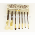 New arrival simple retractable makeup brush set