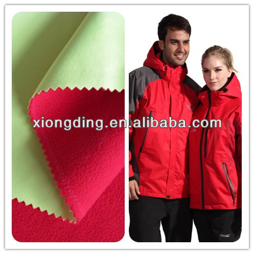 Waterproof Breathable Windproof PTFE 3-layer Lamination Fabric