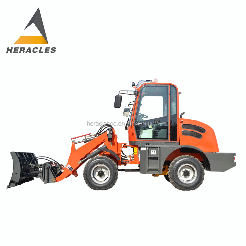 HERACLES compact mini wheel loader operator job vacancy in germany