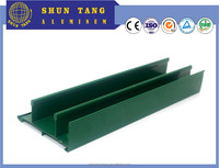 Commercial aluminum glass door frame/Double insulated glass door and window alloy aluminum profile