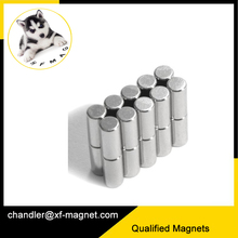 Customized Neodymium Motor Cylinder Magnets TS16949