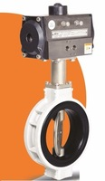PNEUMATIC ACTUATOR OPERATED ALUMINIUM BODY BUTTERFLY VALVE 4M-PABFV
