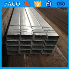 Tianjin gi square rectangular pipe ! market value galvanized steel pipe hot dip q195 pre galvanized steel pipes