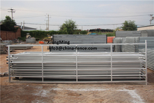 steel tubular gate / steel pipe farm gates / security fence gate