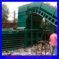 Good quality waste paper compress machine with lowest price