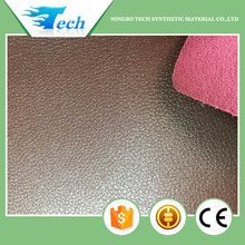 Thickness 1.80 mm pu shoe upper leather raw material for shoes and bags