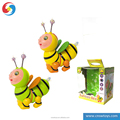 DD0715033 Battery operated animal universal wheel Musical bee bo cartoon toy